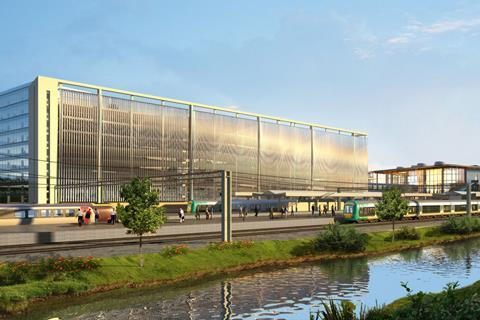 Design for Northampton Station by BDP